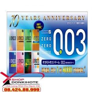 Mua bao cao su Okamoto 0.03 chính hãng của Nhật ở đâu