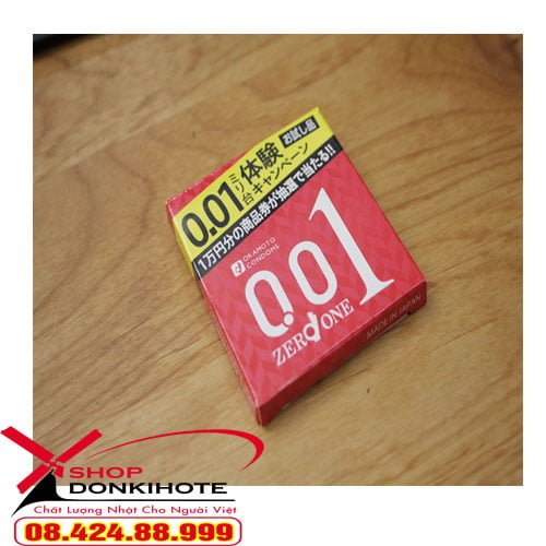 bao cao su Okamoto 0.01 nhật bản là loại có chất lượng cao được hãng Okamoto