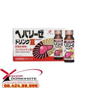 Nước uống Zeria Hepalyse II Nhật Bản bổ gan thúc đẩy hồi phục lại tế bào gan