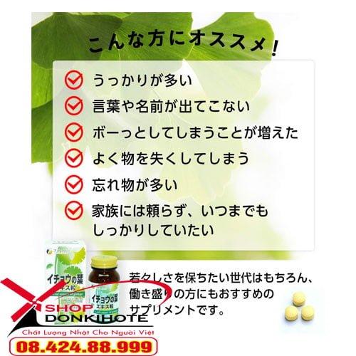 Viên uống bổ não Fine Ginkgo Plus Nhật Bản thúc đẩy tuần hoàn máu, giúp não bộ hoạt động tốt hơn