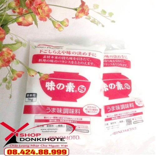 Bột ngọt Ajinomoto 1kg Nhật bản có vị ngọt dịu khi tra nấu vào món ăn