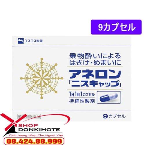 Viên uống chống say xe Anerol Nhật Bản thành phần an toàn, hiệu quả cao