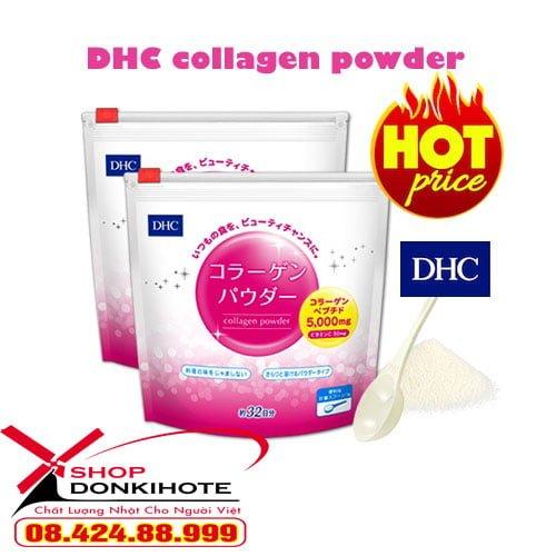 Giá Collagen dhc dạng bột 192g Nhật Bản bao nhiêu hiện nay?