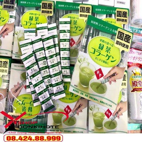 Bột Collagen hanamai da cá hộp 30 gói phụ nữ Nhật Bản đang sử dụng hàng ngày