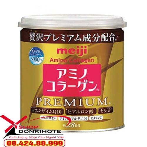 Các thành phần có trong Collagen meiji premiumbản Nhật Bản