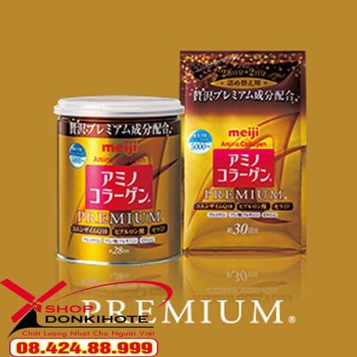 Những lưu ý khi sử dụng bột collagen meiji premium 5000mg mẫu mới