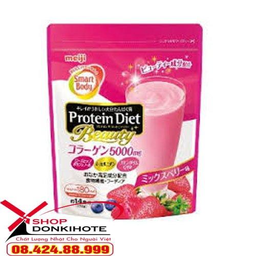 Protein Diet Collagen 5000mg giúp giảm cân khỏe mạnh, không ép cân, gây ra mệt mỏi