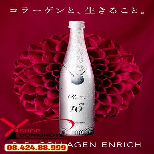 Collagen Enrich Refa 16 Nhật Bản là dòng thực phẩm chức năng mang lại tác dụng tốt cho da và sức khỏe