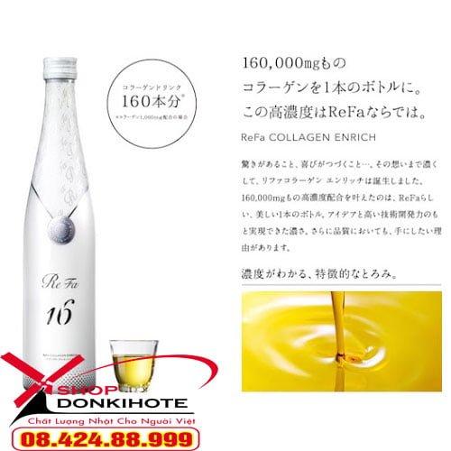Collagen Enrich Refa 16 Nhật Bản cạnh tranh nhất tại donkivn.com