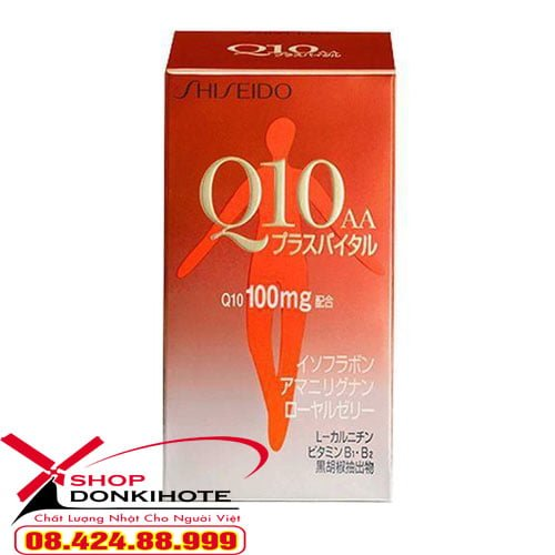 Viên uống Collagen Shiseido Q10 AA giá bao nhiêu
