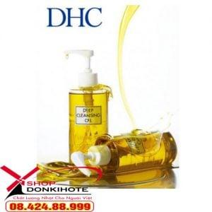Dầu tẩy trang DHC Deep Cleansing Oil 70ml của Nhật giá bao nhiêu