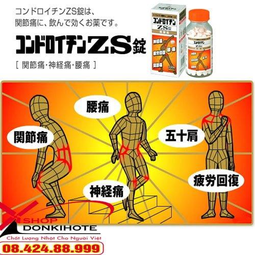 Bổ xương khớp Nhật Bản Arinamin EX Plus 120 viên phù hợp cả với những người mới ốm dậy, suy nhược cơ thể