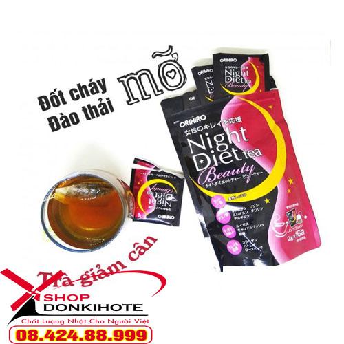 Orihiro Night Diet Tea là một lựa chọn hoàn hảo cho bạn.