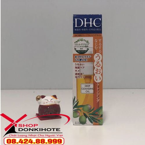 Dầu tẩy trang DHC Deep Cleansing Oil 70ml Nhật Bản mua ở đâu
