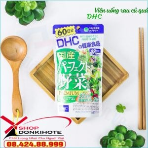 Viên uống rau củ DHC Premium 60 ngày Nhật Bản gọi tắt là viên rau DHC của Nhật