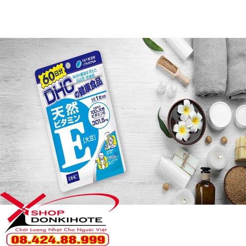 Sản phẩm viên uống vitamin E DHC giá cạnh tranh tại Hà Nội