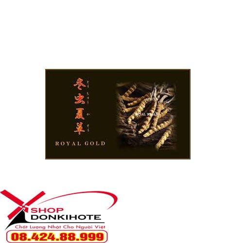Cách sử dụng đông trùng hạ thảo Royal Gold Tohchukaso Nhật Bản