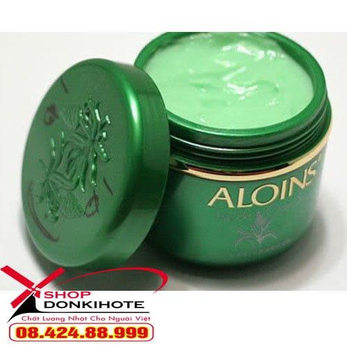 Kem dưỡng da toàn thân lô hội Aloins kem xanh Aloins Nhật Bản chính hãng giá rẻ tại donkivn shop