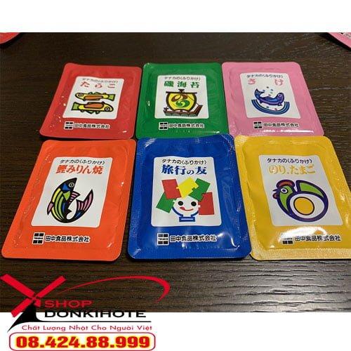 sản phẩm gia vị rắc cơm túi 30 gói 6 vị còn giúp kích thích hệ tiêu hóa của bé tốt hơn