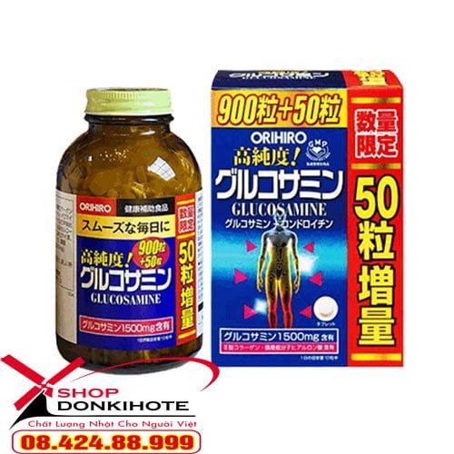 Thuốc xương khớp Glucosamin orihiro Nhật Bản có tốt không?