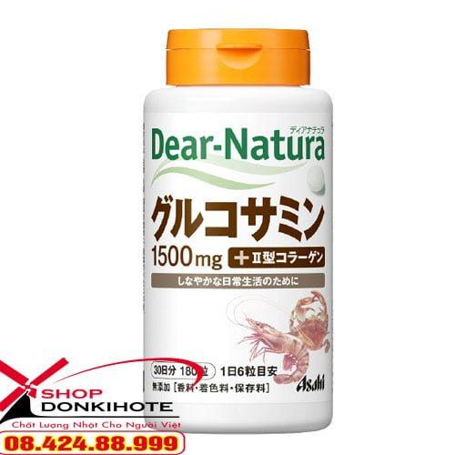 Thuốc bổ xương khớp Glucosamin Dear Natura Nhật Bản 180 viên ra đời là biện pháp cho tình trạng loãng xương ở nước ta