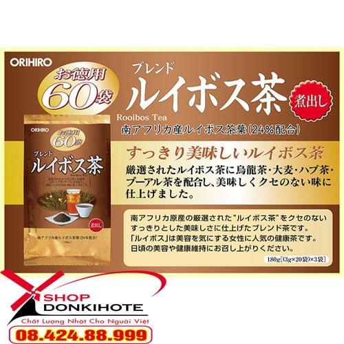 Trà hồng Nam Phi Orihiro phù hợp cho mọi đối tượng sử dụng