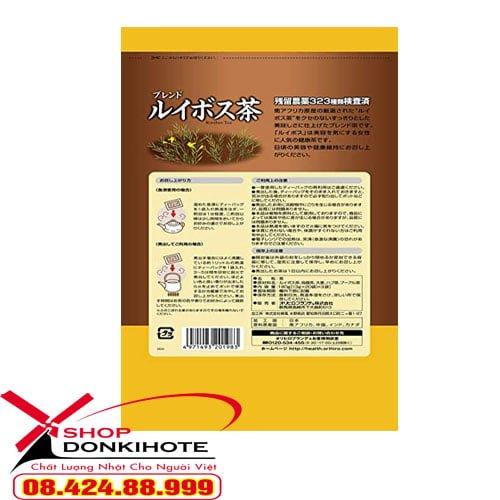 Hồng trà Nam Phi Rooibos Tea Orihiro của Nhật được phụ nữ Nhật Bản tin tưởng