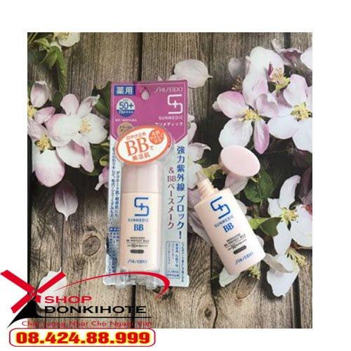 Kem Shiseido Sunmedic Medicated Sun Protect hương thơm dịu nhẹ