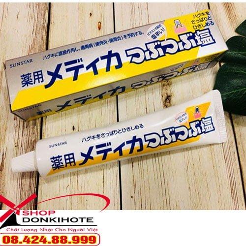 Kem đánh răng muối Nhật có tốt không ? bạn nên mua tại donkivn shop để có được sản phẩm chính hãng