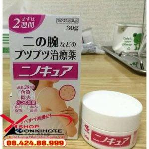 Kem trị viêm nang lông tay Kobayashi hộp 30gr Nhật Bản chính hãng, giúp giải quyết tình trạng viêm da, sưng tấy