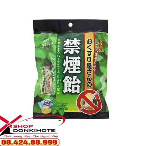 Kẹo cai thuốc lá Nhật Bản vị bạc hà là sản phẩm cai thuốc lá hiệu quả nhất