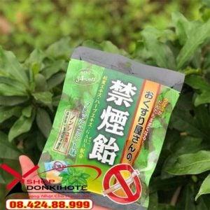kẹo cai thuốc lá bạc hà trên thị trường hàng nội địa Nhật ở Việt Nam
