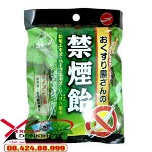Kẹo cai thuốc lá bạc hà Nhật Bản giúp làm giảm cơn thèm thuốc