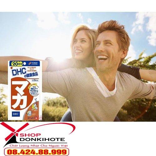 Viên uống Maca DHC 20 ngày của Nhật bản là thực phẩm chức năng giúp cải thiện tình trạng sinh lý