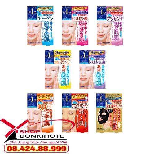 Sản phẩm mặt nạ giấy Kose Cosmeport không gây mụn, viêm, an toàn và phù hợp