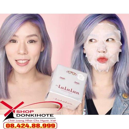 Mặt nạ Lululun dưỡng trắng hiệu quả, an toàn