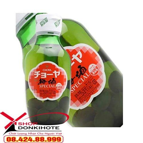 Rượu mơ choya special 1.6L Nhật Bản có tác dụng chuyển hóa oxy