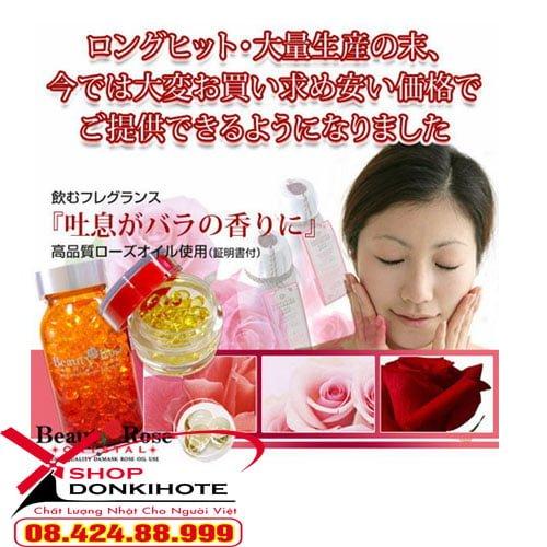 Viên uống thơm Beauty Rose Crystal có tốt không