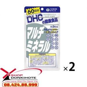 Viên uống Multi Minerals DHC bổ sung khoáng chất Nhật Bản mua ở đâu