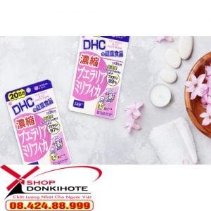 Viên uống nở ngực đẹp da tự nhiên DHC Nhật Bản được chiết suất từ thành phần tự nhiên