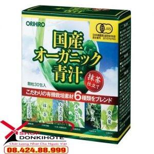 Nước ép Organic 30 gói Orihiro nhật bản được phân phối chính hãng