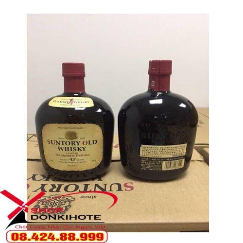 Rượu Suntory Old Whisky của Nhật giúp thanh lọc các chất mỡ thừa, không tốt cho sức khỏe