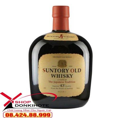 Rượu Suntory Old Whisky Nhật Bản giúp ngăn ngừa ung thư