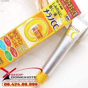 Serum Vitamin C Melano Cc Rohto Nhật Bản xóa mờ vết thâm sau mụn hiệu quả, dưỡng da trắng hồng tự nhiên