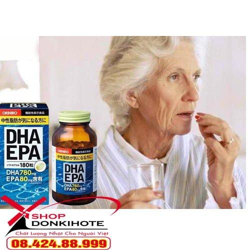 Viên uống bổ não DHA EPA Orihiro Nhật Bản giá bao nhiêu