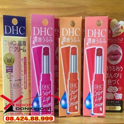 Son dưỡng DHC Nhật Bản uy tín chất lượng tại donkivn.shop