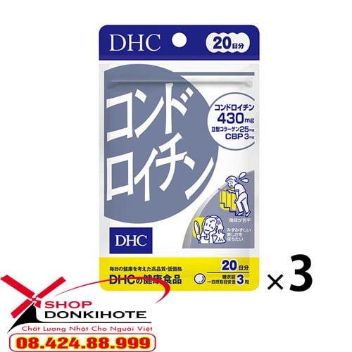 viên sụn vi cá mập DHC 20 ngày của Nhật chính hãng từ nhà sản xuất