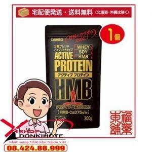 Công dụng, tác dụng Orihiro active protein 300g Nhật Bản