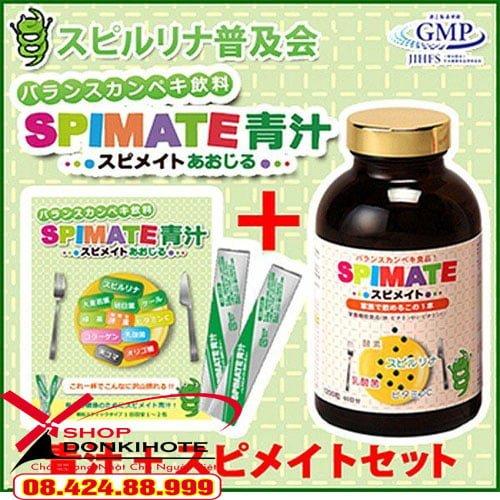 Tảo cao cấp Spimate cho trẻ biếng ăn Nhật Bản uy tín số 1
