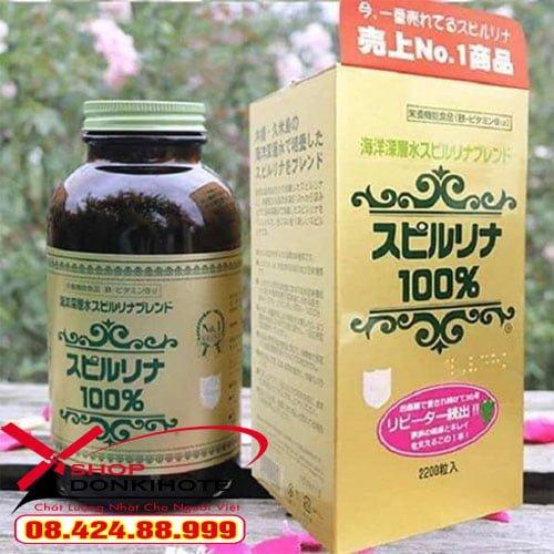 Tảo xoắn Spirulina 2200 viên Nhật Bản là dòng sản phẩm rất an toàn và tốt cho sức khỏe